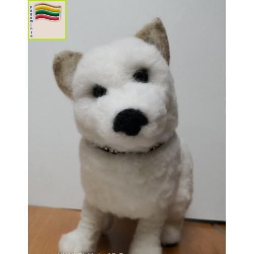 Suvenyrinis Baltas šuniukas