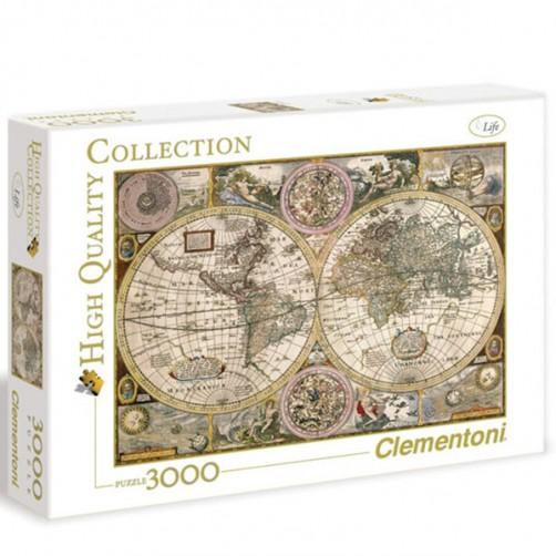 Dėlionė Antikinis žemėlapis 3000 daliu