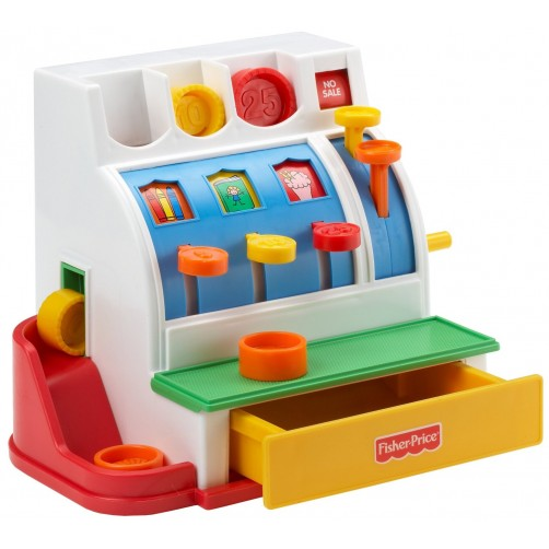 Fisher Price kasos aparatas