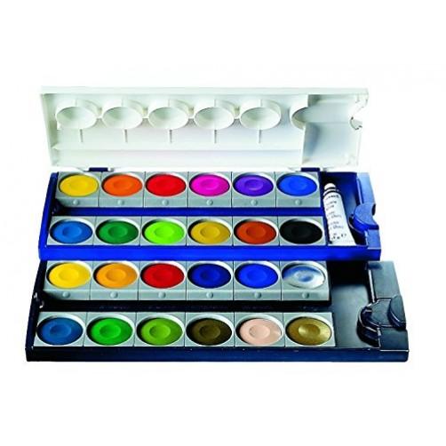 Akvareliniai dažai Pelikan opaque 24 spalvos