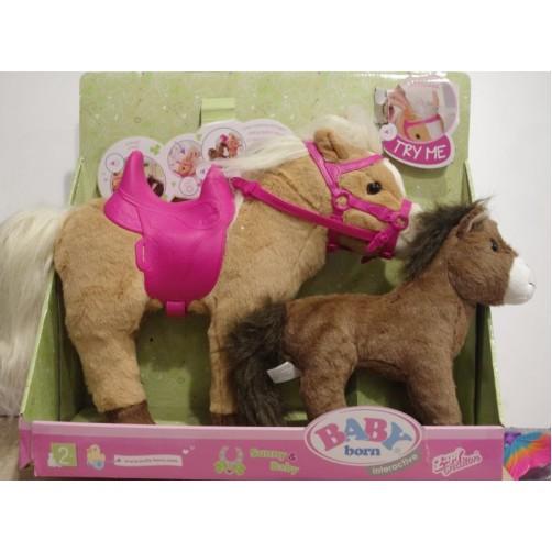 Interaktyvus Baby Born arkliukas su kumeliuku