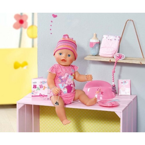 Baby Born interaktyvi lėlė