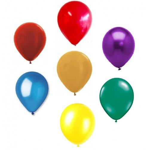 Tvirti perlamutriniai lateksiniai balionai