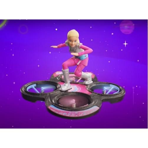 Barbė ant skraidlentės. DLV45 Barbie RC Hoverboard
