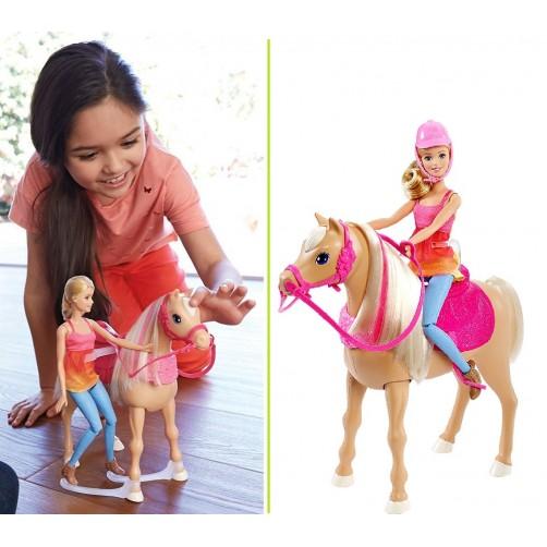 Barbė ir jos šokantis žirgas DMC30