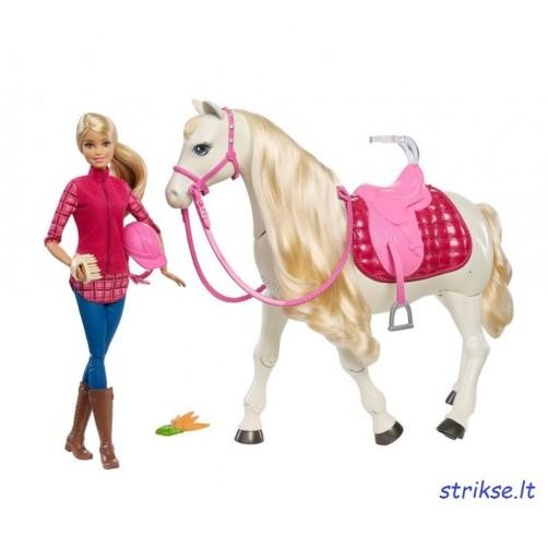 Barbė ir jos interaktyvus žirgas
