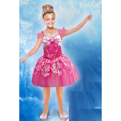 Barbės suknelė 5- 7 metų panelei
