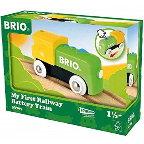 Medinis elektrinis lokomotyvas Brio