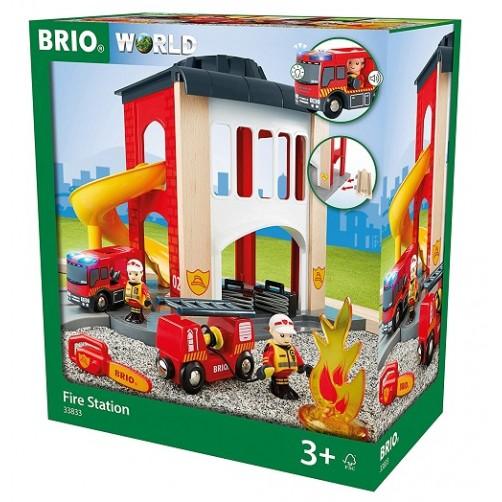 Brio 33833. Ugniagesių- gelbėtojų stotis