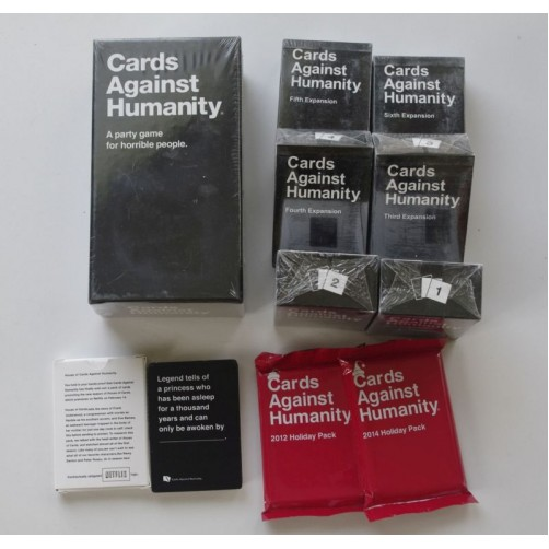 Cards Against Humanity (party game for horrible people)