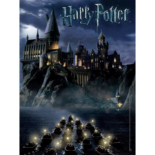 Dėlionė , Hogvardso pilis iš filmo Haris Poteris