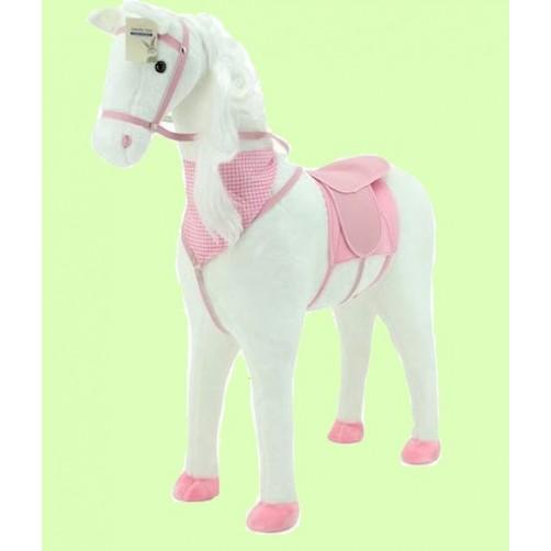 Didelis pliušinis arkliukas su garsais Sweety toys