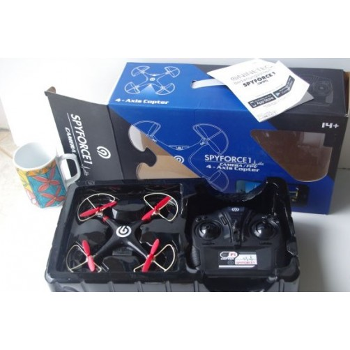 "Dronas "" Ninetec Spyforce1"" su kamera"