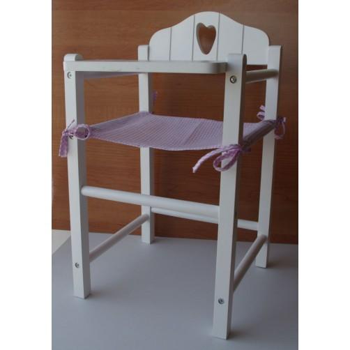 Medinė kėdutė lėlei