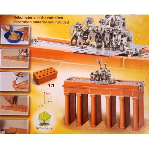 Jauniesiems mūrininkams keraminis konstruktorius Brandenburgo Vartai