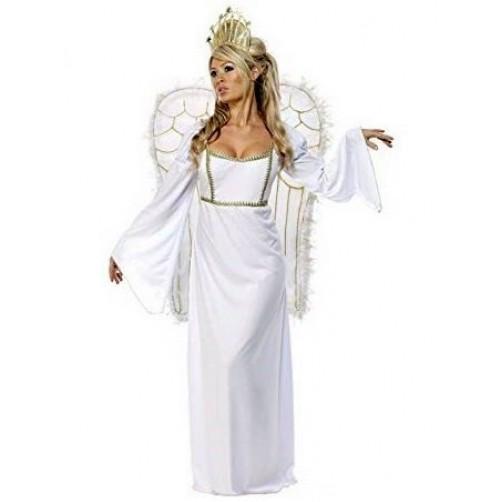 Balto angelo kostiumas M dydis