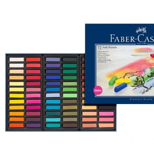Kreidelės piešimui (72 spalvos ir atspalviai)