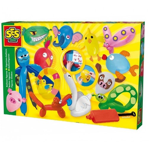 Kūrybinis rinkinys balionai- gyvūnai SES 00952