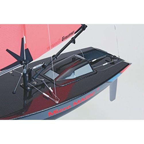 Didelė klijuojama jachta-modelis Micro Magic 2014.CV2 Carbon Edition
