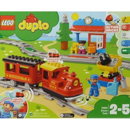 Lego Duplo 10874. Traukinukas