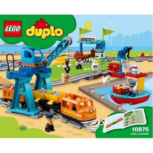 Lego duplo 10875. Krovinių terminalas