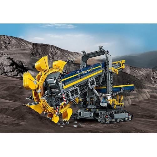 Lego 42055. Didelis daugiakaušis ekskavatorius
