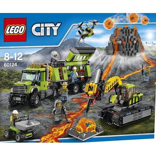 Lego 60124. Vulkanologai