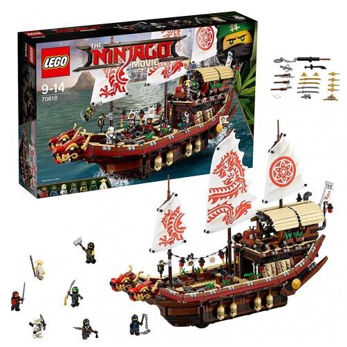 Lego 70618. Nenugalimas nindzių laivas