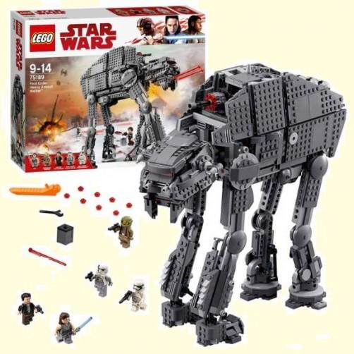 Lego 75189. First Order Heavy Assault Walker