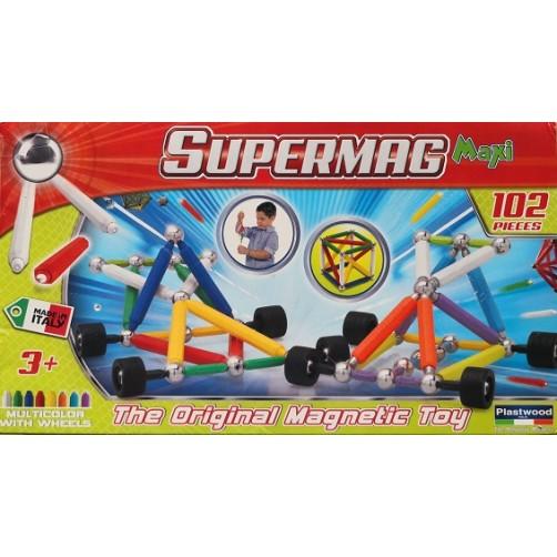 Magnetinis konstruktorius Plastwood 0110 - Supermag