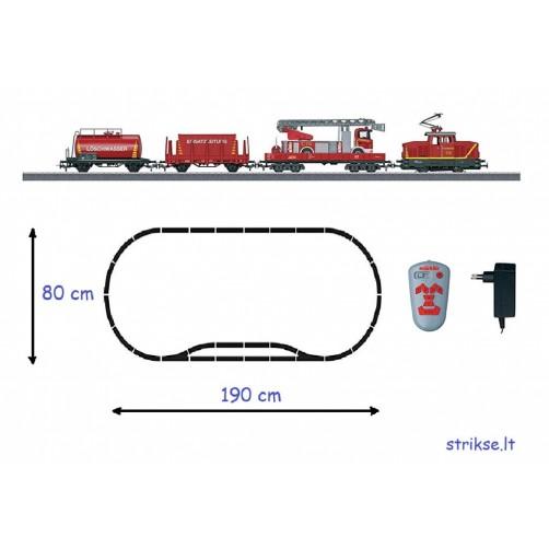 Traukinys Marklin 29752 su trasa