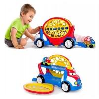 Traliukas su automobiliuku mažiems vaikams