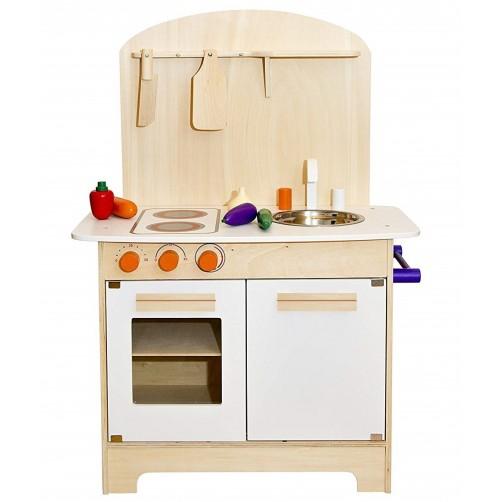 Medinė virtuvėlė vaikams Glow2B 1000016