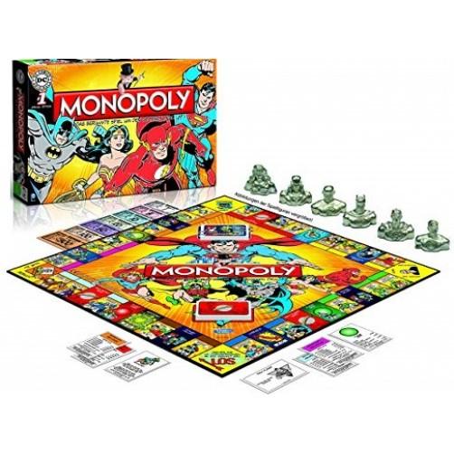 Monopolis Komiksų Herojai