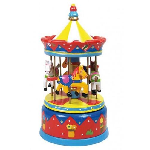 Medinė muzikinė karuselė