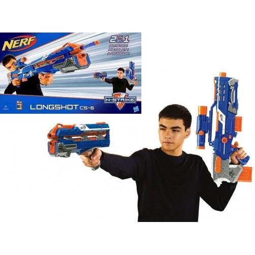 Nerf šautuvas N-Strike Longshot CS-6