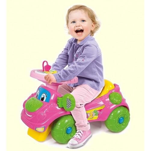 Pasispiriama mašinėlė vaikams du viename Clementoni