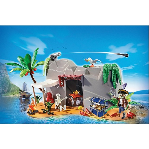 Playmobil 4797. Piratų uola