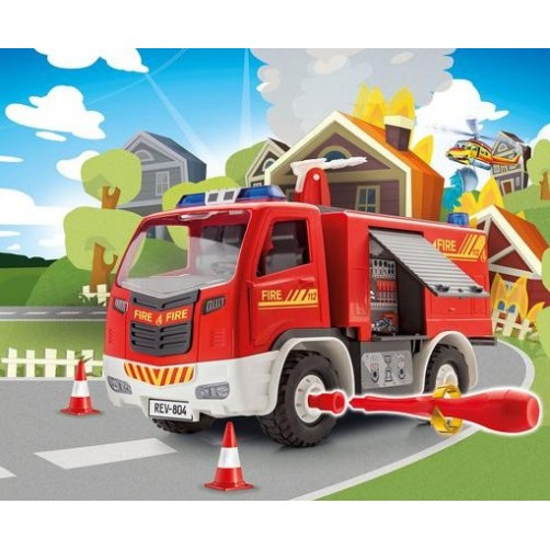 Konstruktorius Ugniagesių sunkvežimis Revell 00804