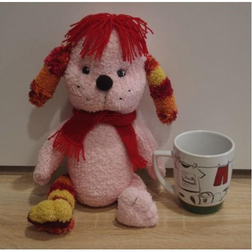 Rožinis šuniukas