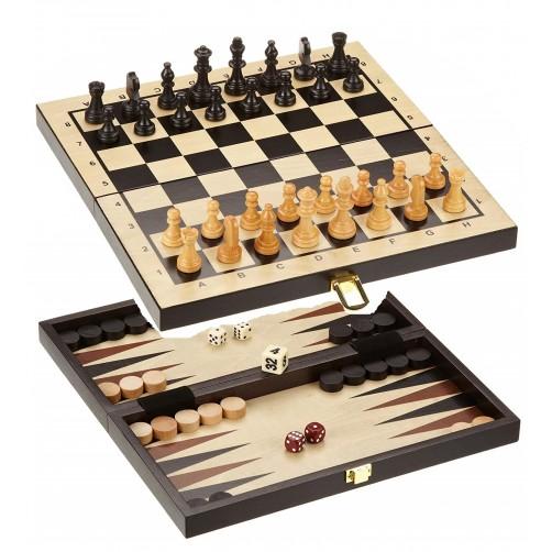 Mediniai šachmatai ir šaškės Philos