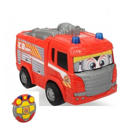 Ugniagesių automobilis Scania mažiausiems