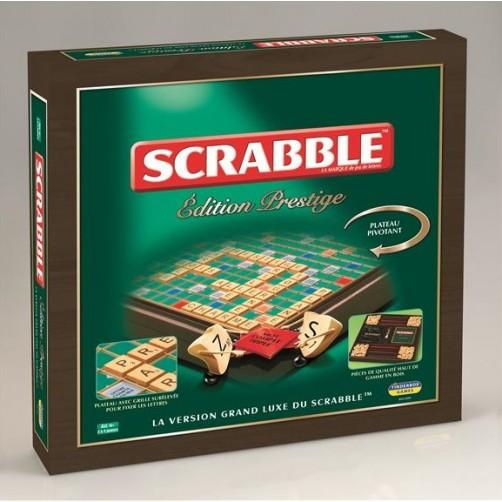 Prabangus medinis stalo žaidimas Scrabble