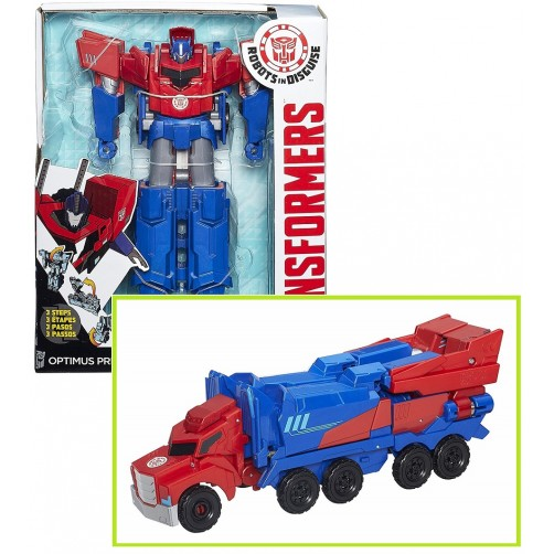 Transformeris Optimus Prime 3 steps B0899ES0