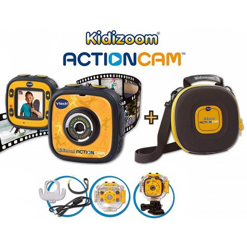 Veiksmo kamera su kelioniniu dėkliuku Vtech