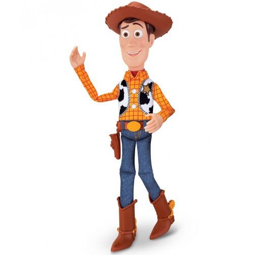 Kalbantis Woody iš filmuko Toy story
