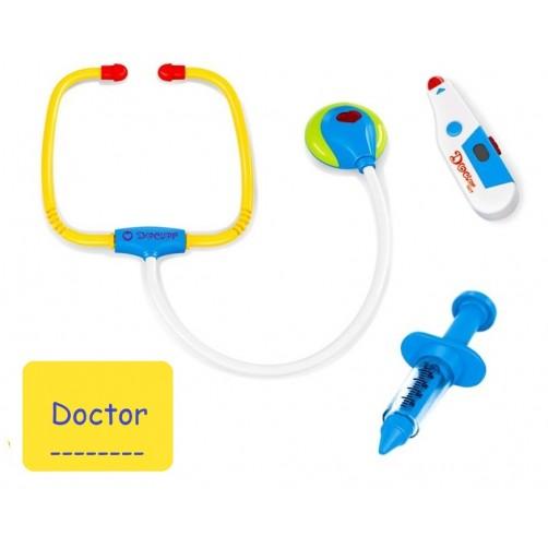 Gydytojo rinkinys su garsais ir šviesomis